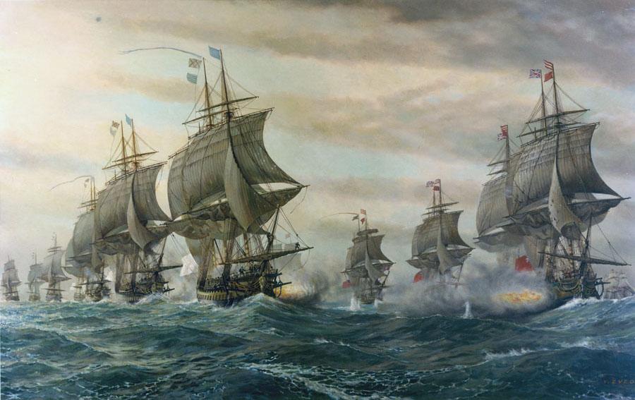 chesapeake bataille