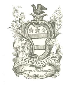 constitution washington exlibris